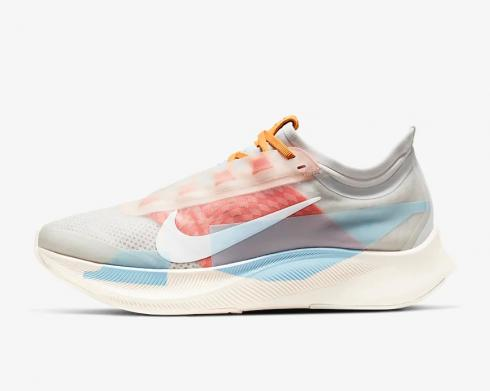 Nike Wmns Zoom Fly 3 Photon Team Orange Psychic Blue White CJ0404-001