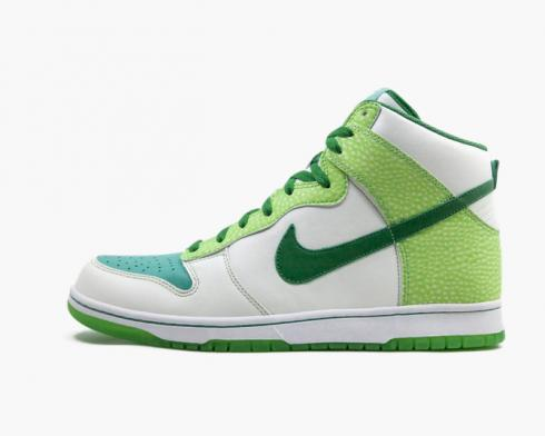 Nike SB Dunk High Premium Glow In The Dark 2 White Classic Green-Radiant Green 312786-131