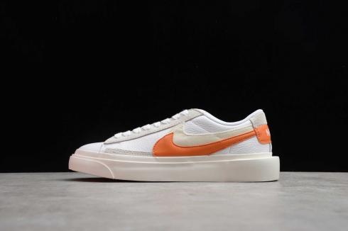 Nike SB Blazer Low x Sacai White Orange Varisity Grey BV0076-107