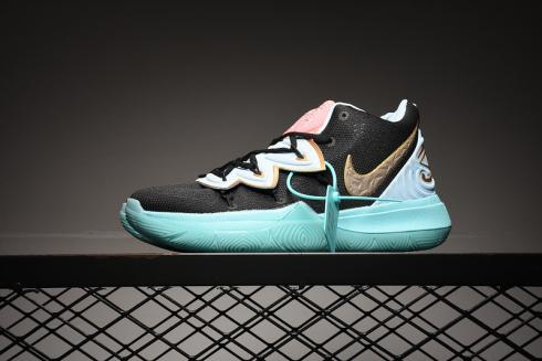 Concepts x Nike Zoom Kyrie 5 EP Ikhet Black Blue Gold CL9961-901