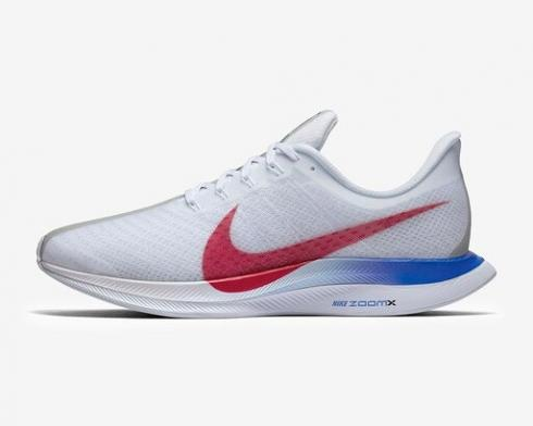 Nike Zoom Pegasus Turbo Blue Ribbon Sports White University Red CJ8296-100