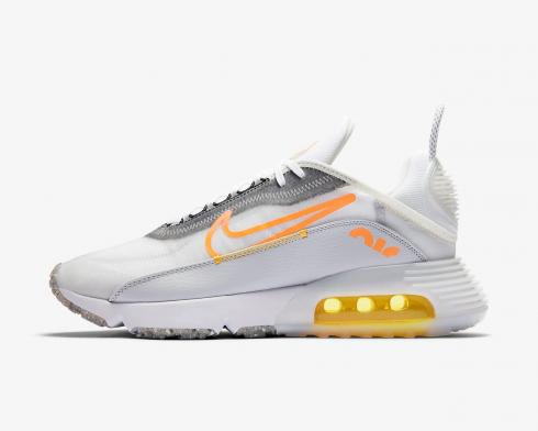 Nike Air Max 2090 White Laser Orange Total Orange DA1502-100