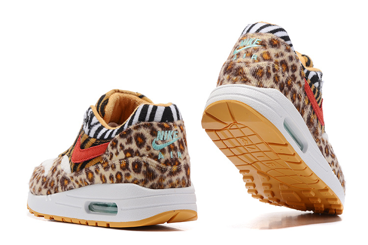 girasol Escarpa templado  Nike Air Max 87 Colorful Leopard Yellow Black White Orange Blue Women  Running Shoes 537384-114 - Febsale